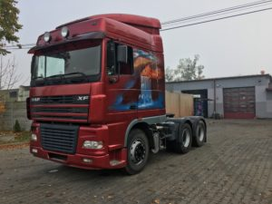 skup ciężarówek daf